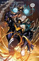 Wolverine #6 by Sandoval-Art