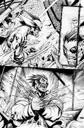 Wolverine #7 by Sandoval-Art