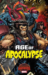 Age of Apocalypse #2 by Sandoval-Art
