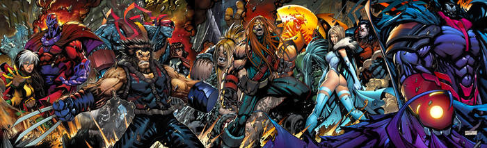 Age of Apocalypse by Sandoval-Art