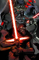 STAR WARS: THE KNIGHTS OF REN-- by Sandoval-Art