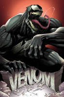 VENOM #1 by Sandoval-Art