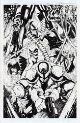 Venom #160, page 2 by Sandoval-Art