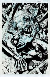 Venom #160 Original art for sale-- by Sandoval-Art