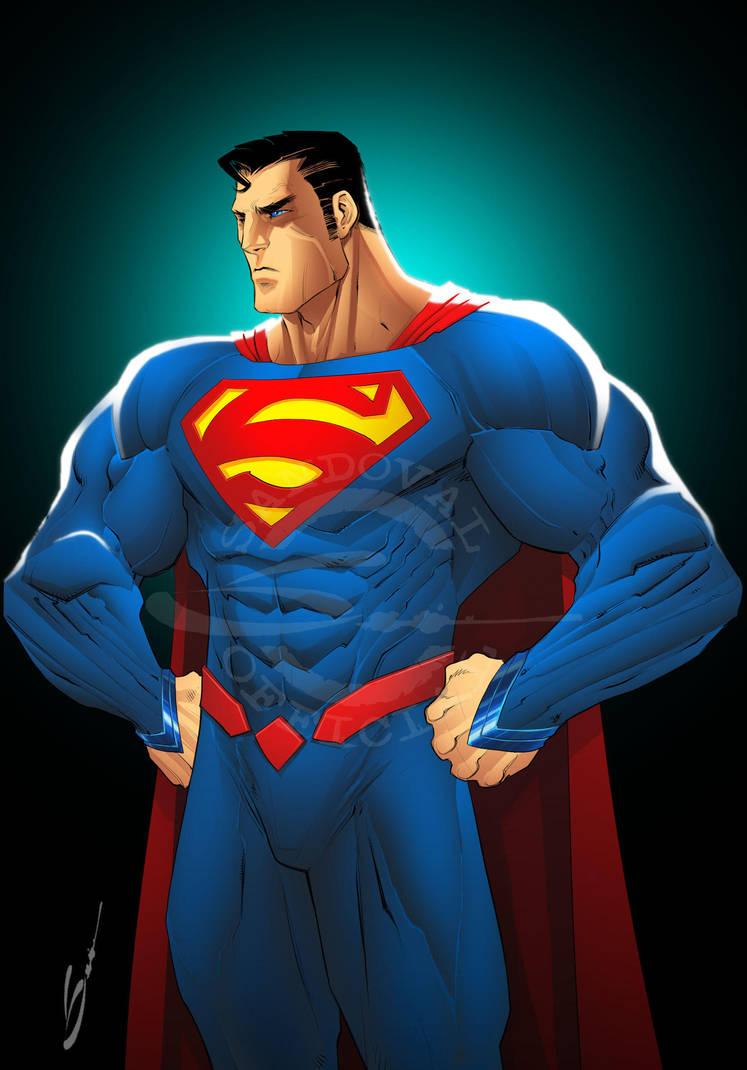 Superman by Sandoval-Art