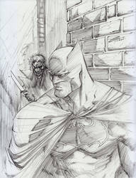Batman by Sandoval-Art