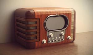 Vintage radio by jesse