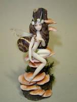 Snail Fairy by Fairiesworkshop