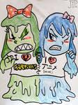 OCs - Toonya and Annie by JuanpaDraws