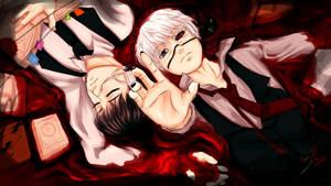 Kaneki Ken[Tokyo ghoul] by Dsrkswon