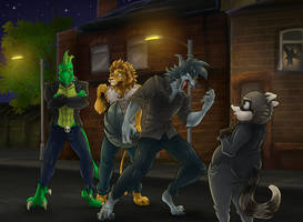Nightriders Battle of the Bands Part 4 by AxlReigns