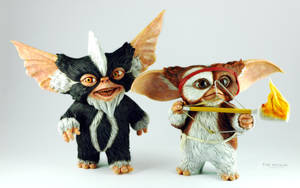 Gizmo and Mohawk Mogwai by fakenrite