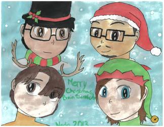 Merry Christmas, BrainScratch! by Nado13579