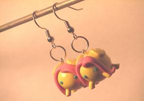 My Little Pony Charm Earrings by CrustCringle