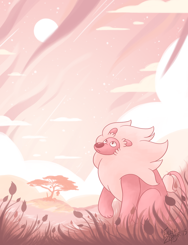 I love all of the background art in Steven Universe, especially the background art from Lion 3: Straight to Video; it's all so breathtaking and inspirational Photoshop CS6 Wacom Intuos Pro&nb...
