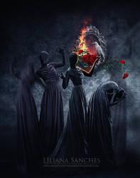 danse macabre by Princess-of-Shadows