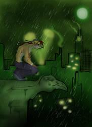 Gift- Rain by cybercortex