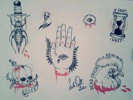 Flash tattoo 2 by ChimaeraUniverse