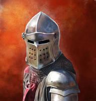 Medieval Knight II by Vadarian