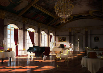Versailles// 3D Fantasy scenery by Vadarian