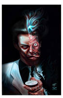 DC Two Face by IzzatAL