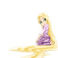 Rapunzel Desktop by SilverOceans