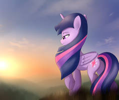 Twilight in the sunset by Fotasy