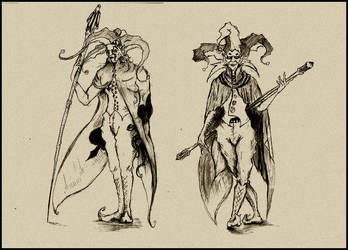 FF9 Jesters of the moon by Razio