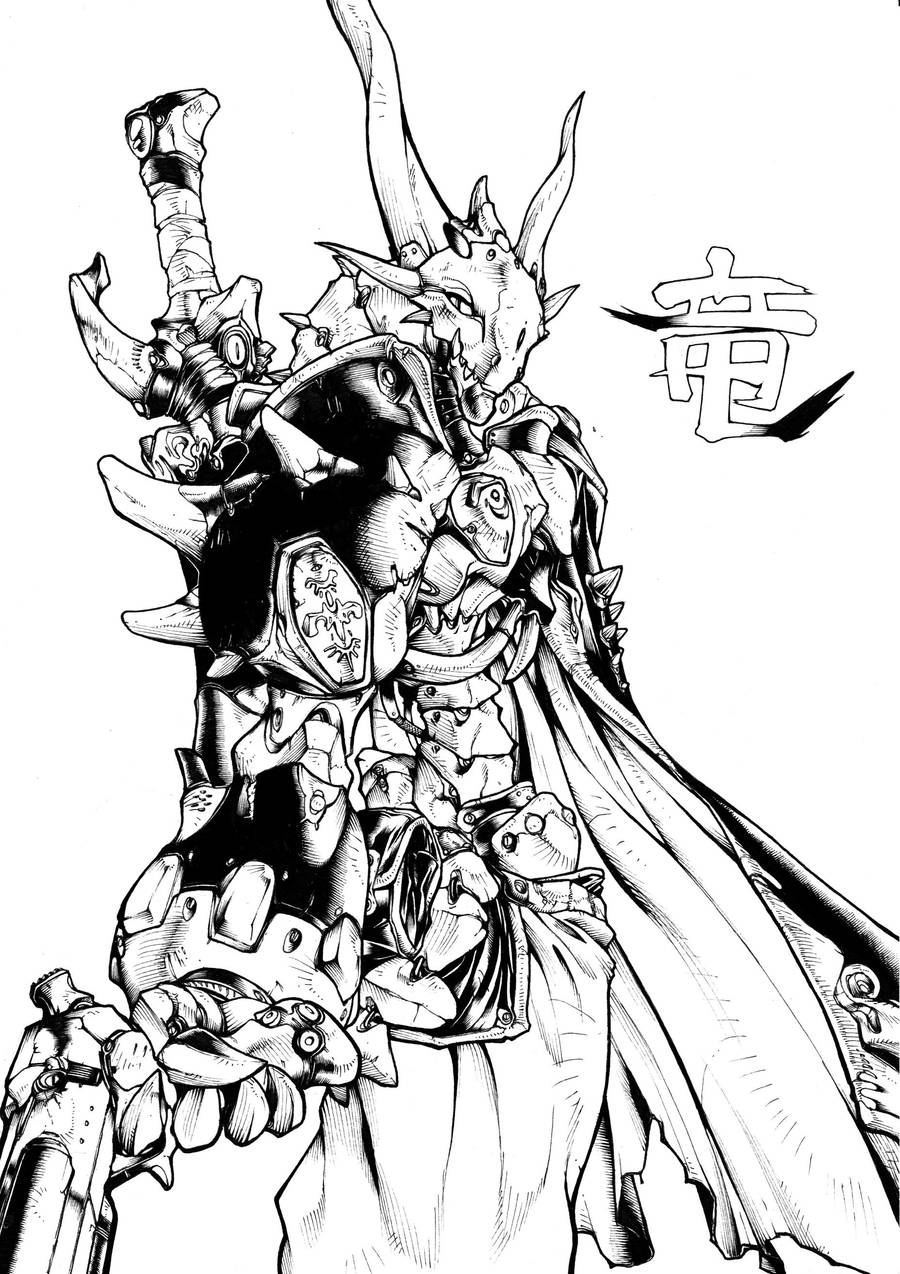 Dragonbot by bananakun