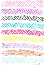 zig zags by chelt