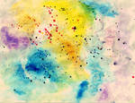 Watercolors texture by EK-StockPhotos