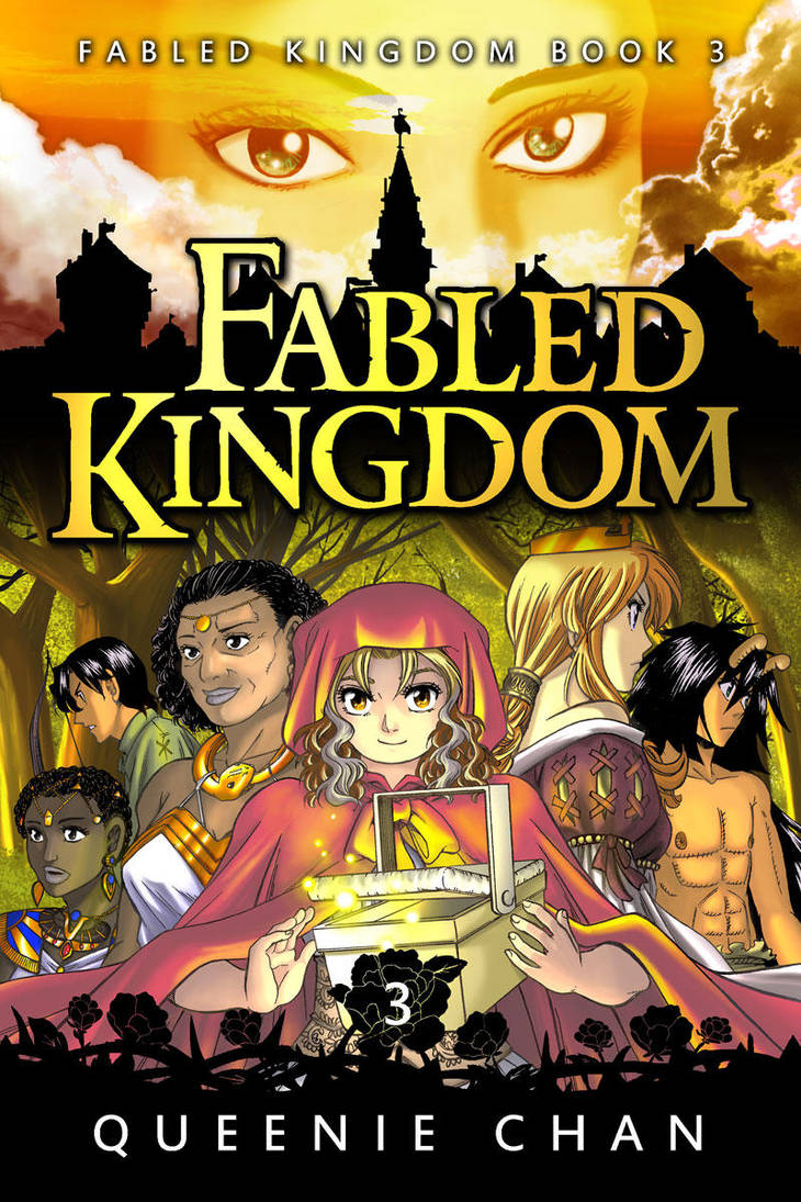 Fabled Kingdom - Book 3 Cover by QueenieChan