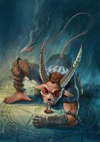 Summoner crab by Darkodev