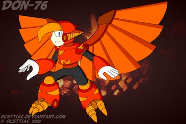 DON-076 Phoenix Man by Ocsttiac