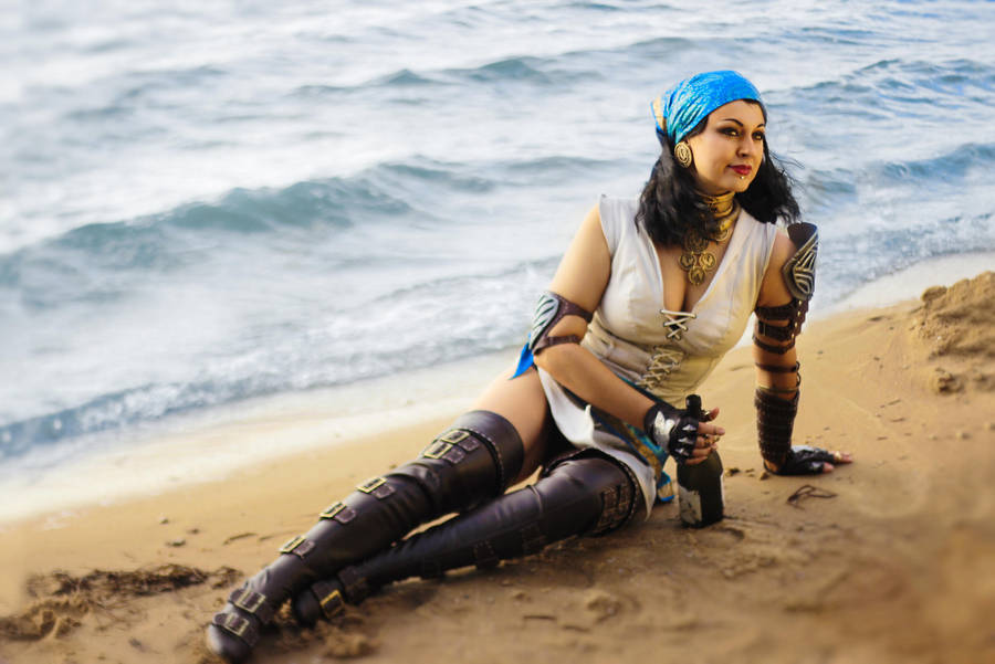 Dragon Age Isabela Cosplay By Alexial Kun On Deviantart
