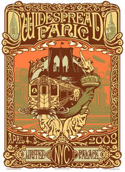 Widespread Panic NY Poster by fensterer