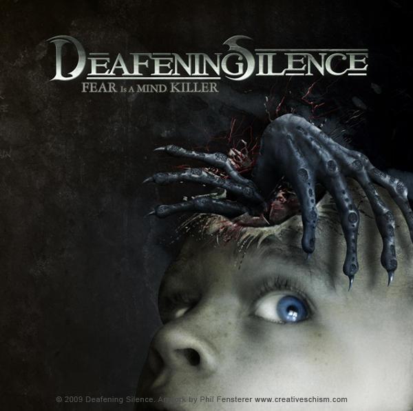 Deafening Silence cd cover art by fensterer