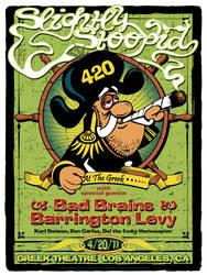 Slightly Stoopid 420 Poster by fensterer