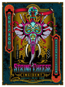The String Cheese Incident - Chicago 2015 by fensterer