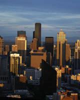Seattle in Sunlight by rebel-skum