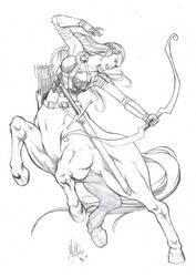 Centaur by manowolvie