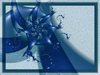 July Blue by Kattvinge