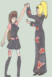 .:A.Trade: Kai and Deidara:. by ninja-in-grey