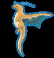 Dragonite (Redo) by TheMeekWarrior