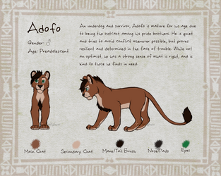 ADOPT $15 - Adofo by TheMeekWarrior