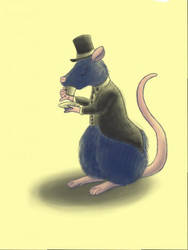 Fancy Rat by KazeSkyfox