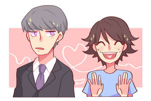 you know this anime if you are fujoshi by Kaindycandy