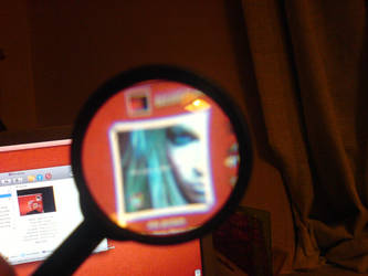 Magnifier - 2 by anarchisthippy
