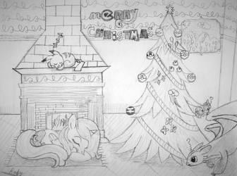 MERRY CHRISTMAS EVERY-DRAGON/PONY/POKEMON :DDD by RabyPower00