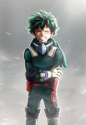 Izuku Midoriya by Copyplier